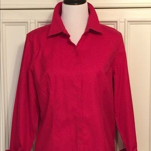 Chico's Buttondown Tunic Shirt